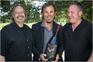 Revelation Cuvee team: Bob Cabral, Jonathan Cain and Dan Kosta