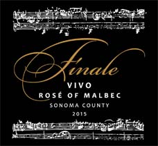 Finale Vivo Rose Of Malbec, Russian River Valley